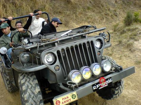 Fahad   S Jeep In Happier Days