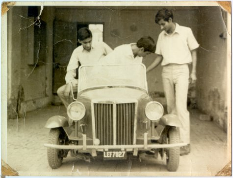 This is the first car ever made and registered in Pakistan