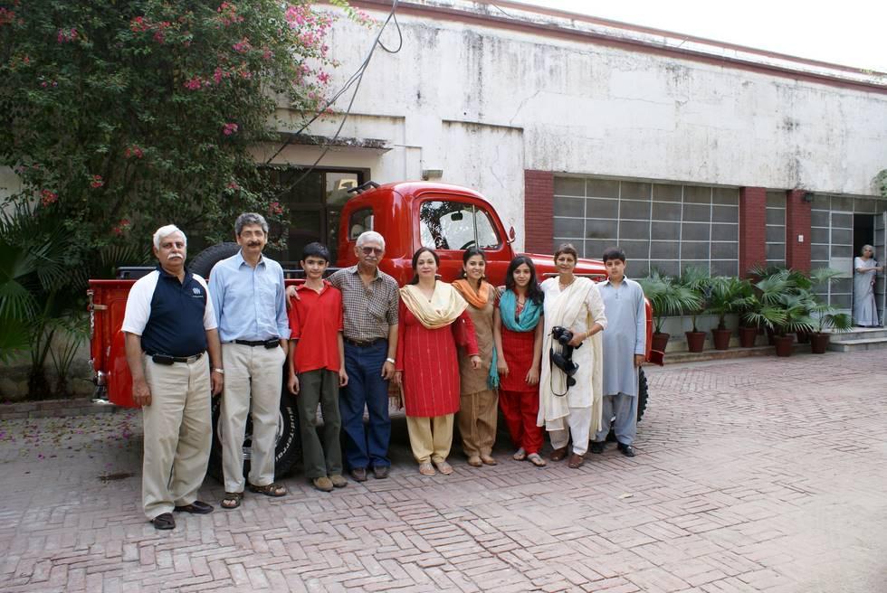 Group Photo at Lahore