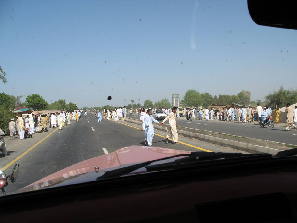 Travelling at Eid