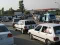 CNG line up on the Motorway