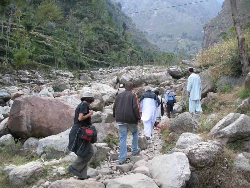 Barakayli Village to Manakhel Village