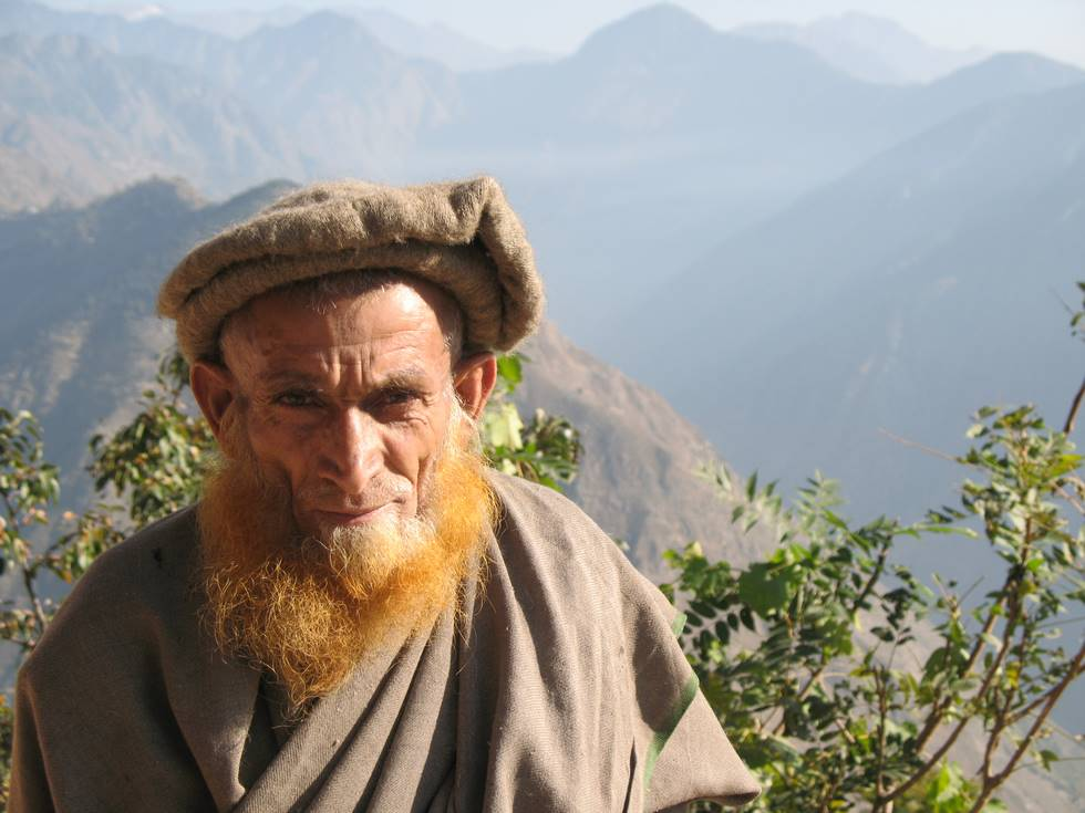 A local Kohistani villager