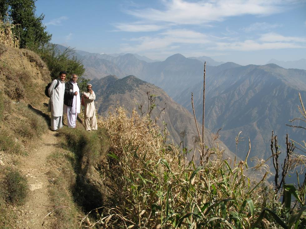 Many of the mountains in Kohistan have been deforested