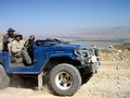 Omar in his FJ40
