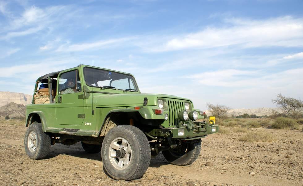 TM's newly rebuilt Jeep Wrangler