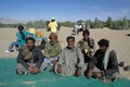 Adam and Sumar, with local people who are even more local then them