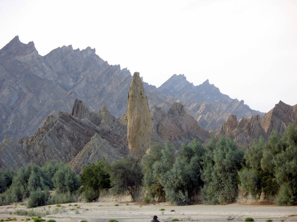 Hingol National Park - some 20 KM north of Nani Mandar