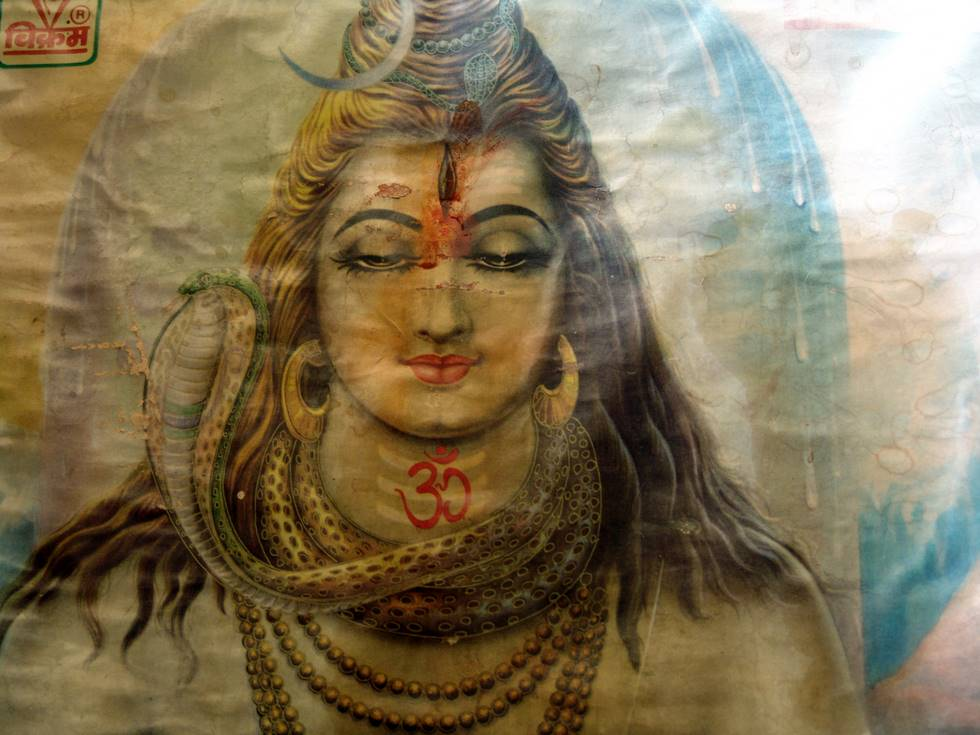 Painting of Lord Shiva
