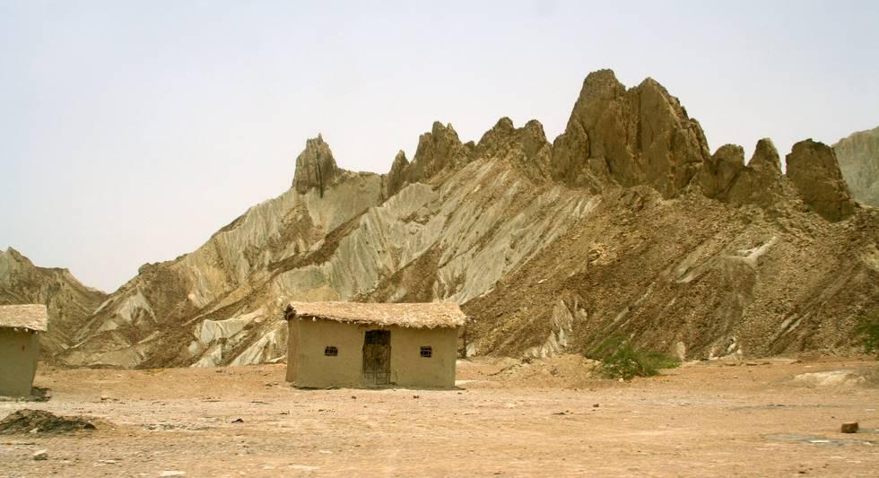 A lone hut