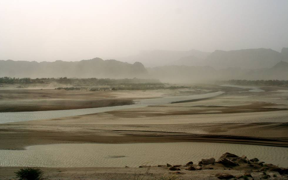 Hingol River bed