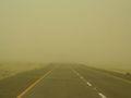 Sandstorm en route