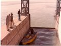 Boat lock at Kotri Barrage