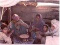 A family on the Indus river that live their entire life on a boat.