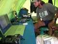 A high tech tent