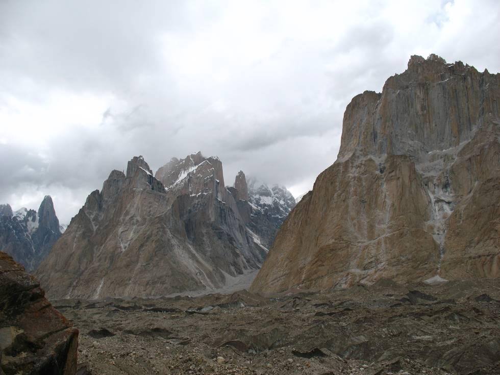 Mountains near Urdukas