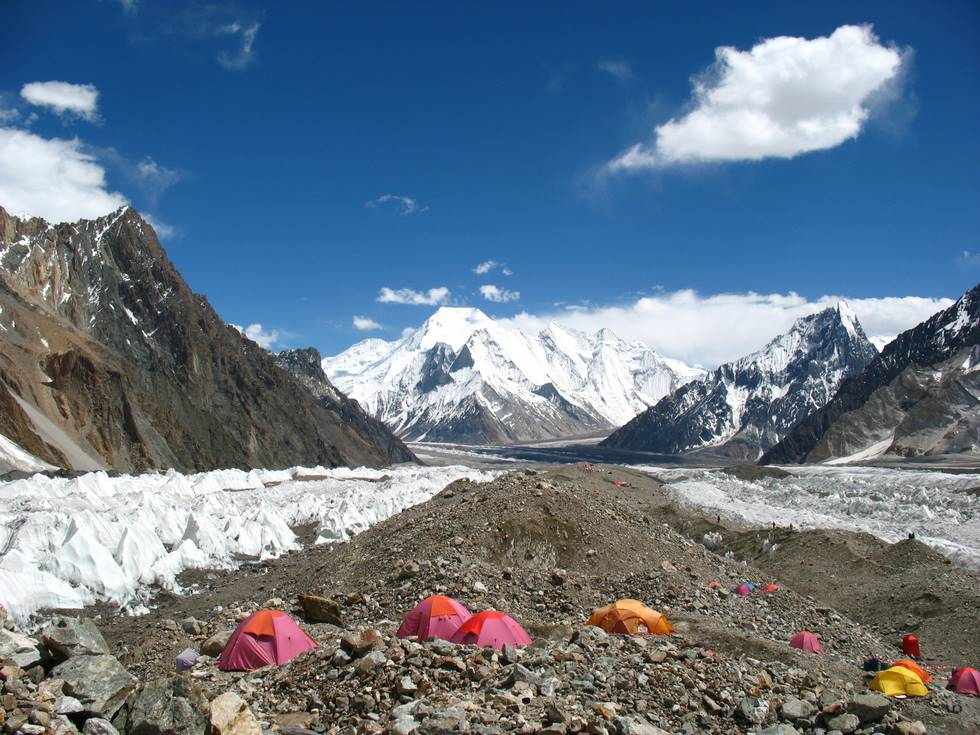 Broad peak basecamp