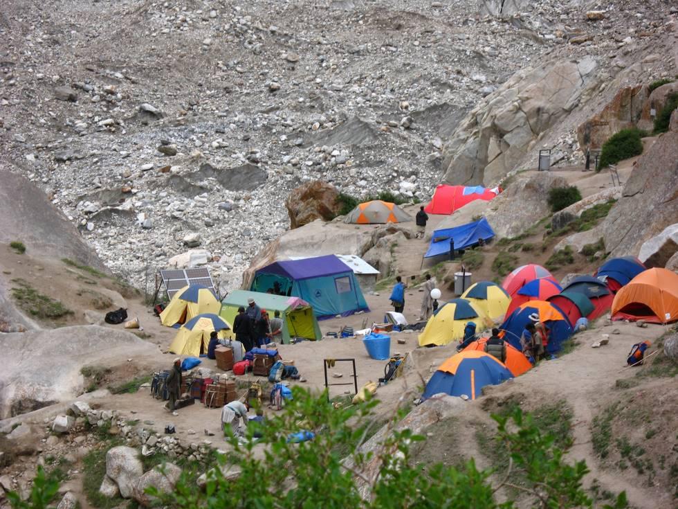Urudukas Campsite upclose