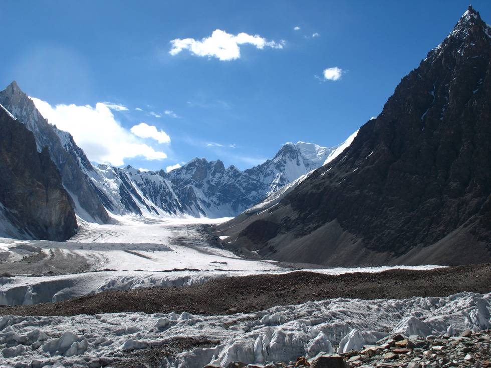 Glacier opposite broad peak