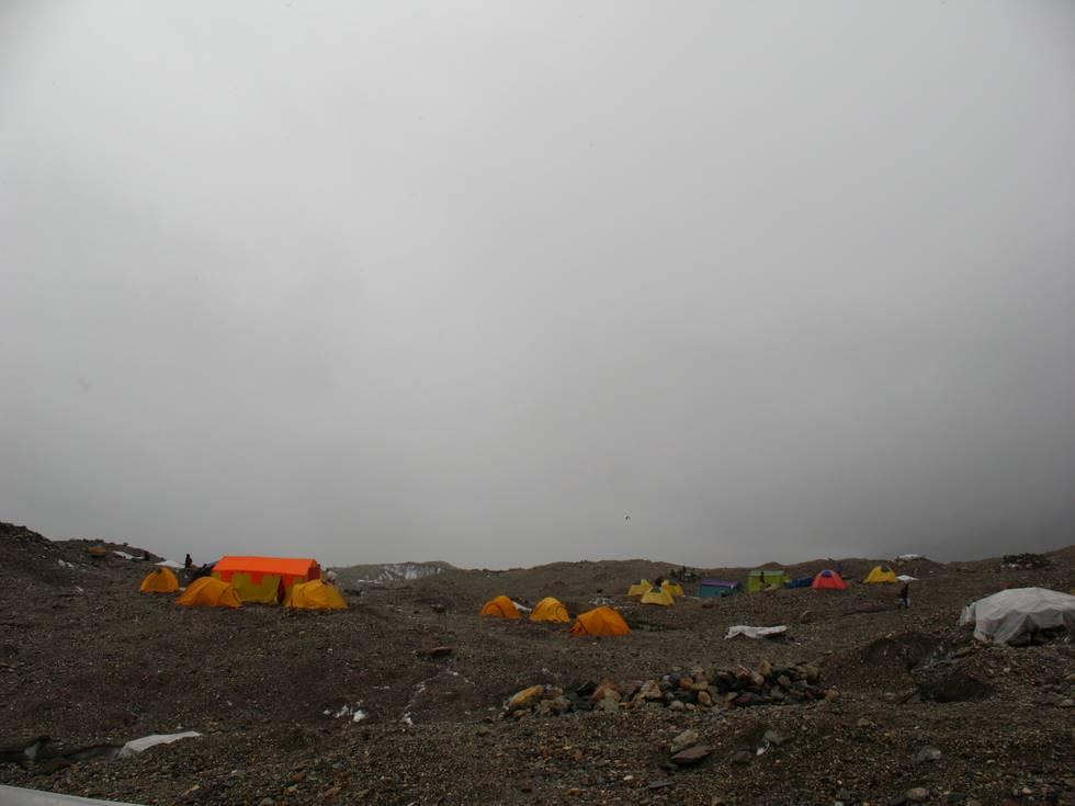 Goro II campsite