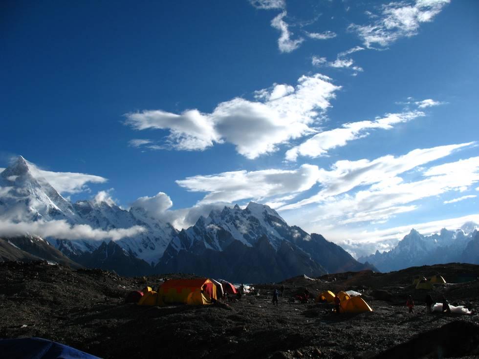 Concordia campsite