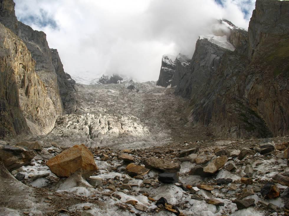Glacier near Urdukas
