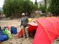 Tent at Askole
