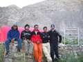 A group photo at Jhoola