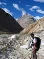 Khiz on the path back to Askole