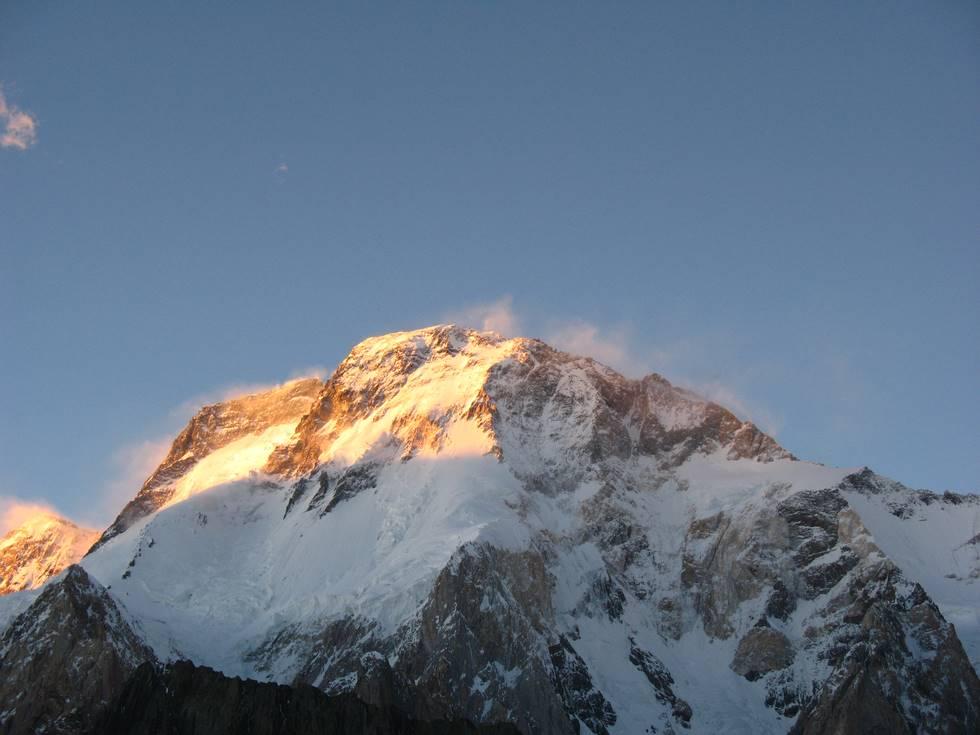 Sunset on Broad Peak