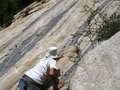 Khiz trying to climb Paiju peak