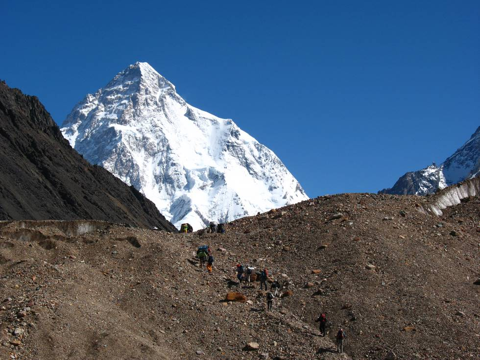 On the K2 trail