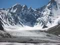 Ice landscape near Broad Peak