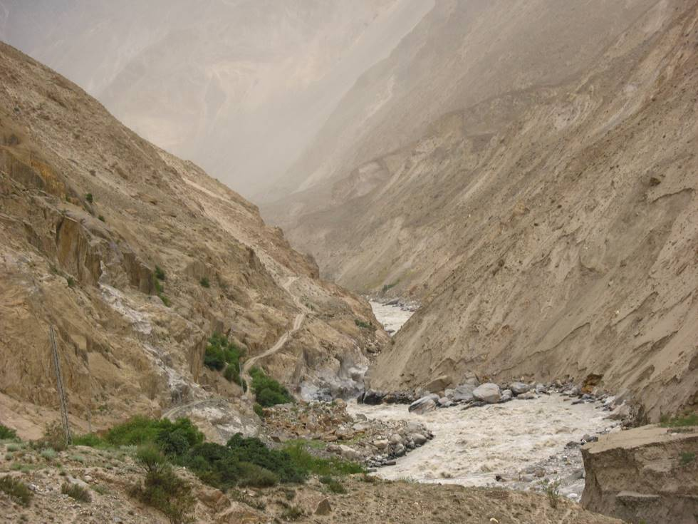 The Askole Skardu road