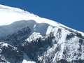 Long line of climbers on Broad Peak