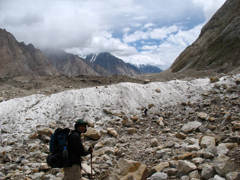 Walking on the Baltoro