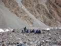 Celebration at K2 Base camp