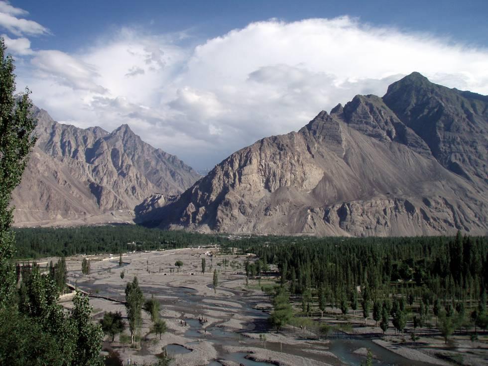 Indus River at Skardu