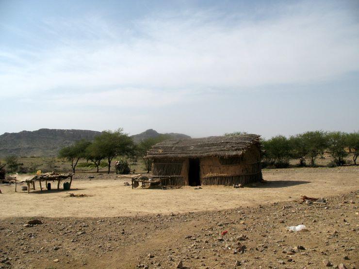 Hut - Sorh Valley, Baluchistan