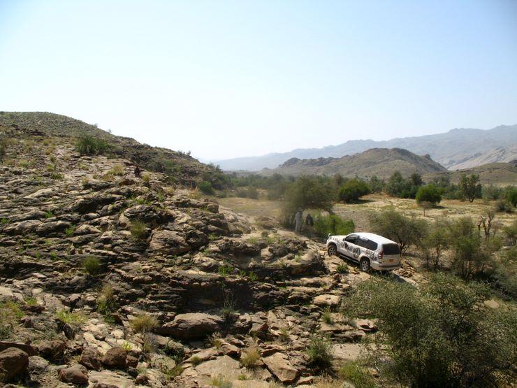 A sandy incline in Sorh Valley, Baluchistan