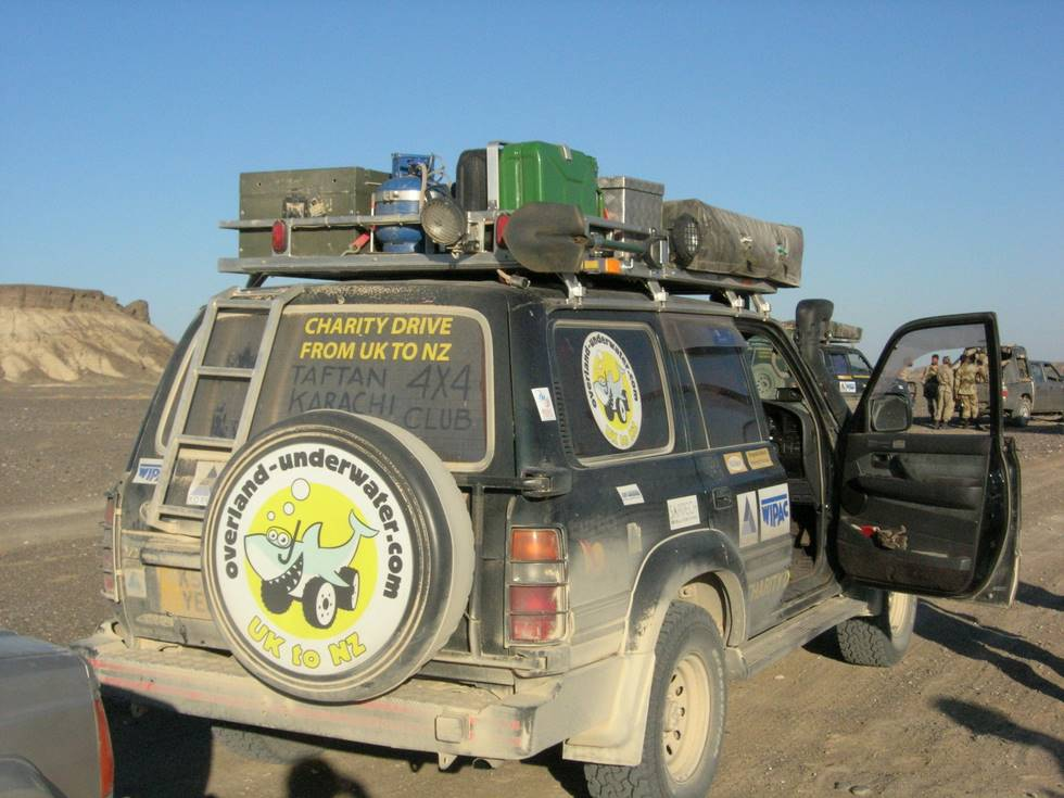 A proper expedition vehicle