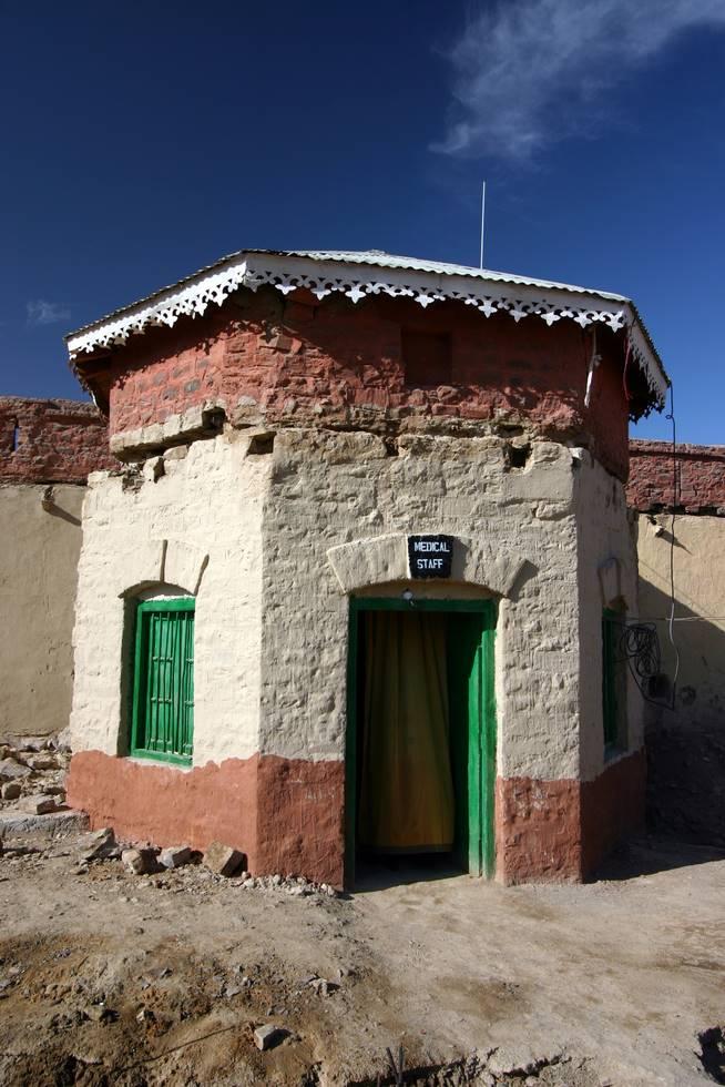 Inside the Saindak Fort