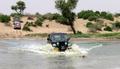 CJ7 crossing water