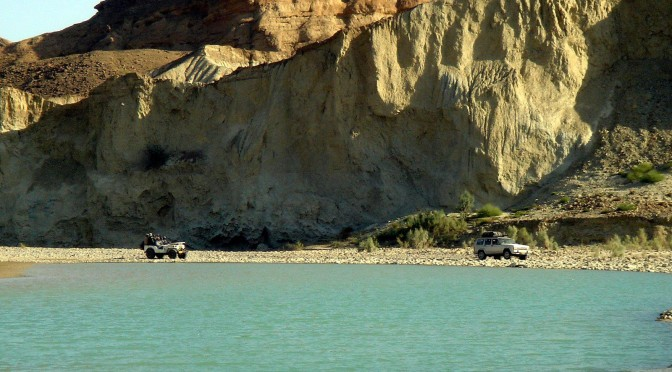 Along the Hingol River